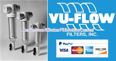 Vu-Flow Spin Down Screen Water Filters